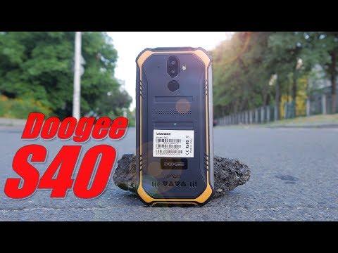 Doogee S40 - смартфон за 80$ с NFC, Android 9 и 4G! 📱