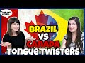 Funny Tongue Twister challenge: English vs Portuguese