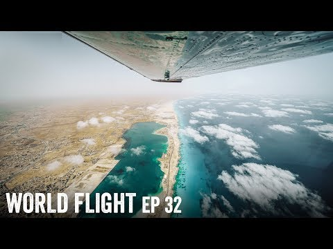 WE FLEW TO AFRICA?! - World Flight Episode 32