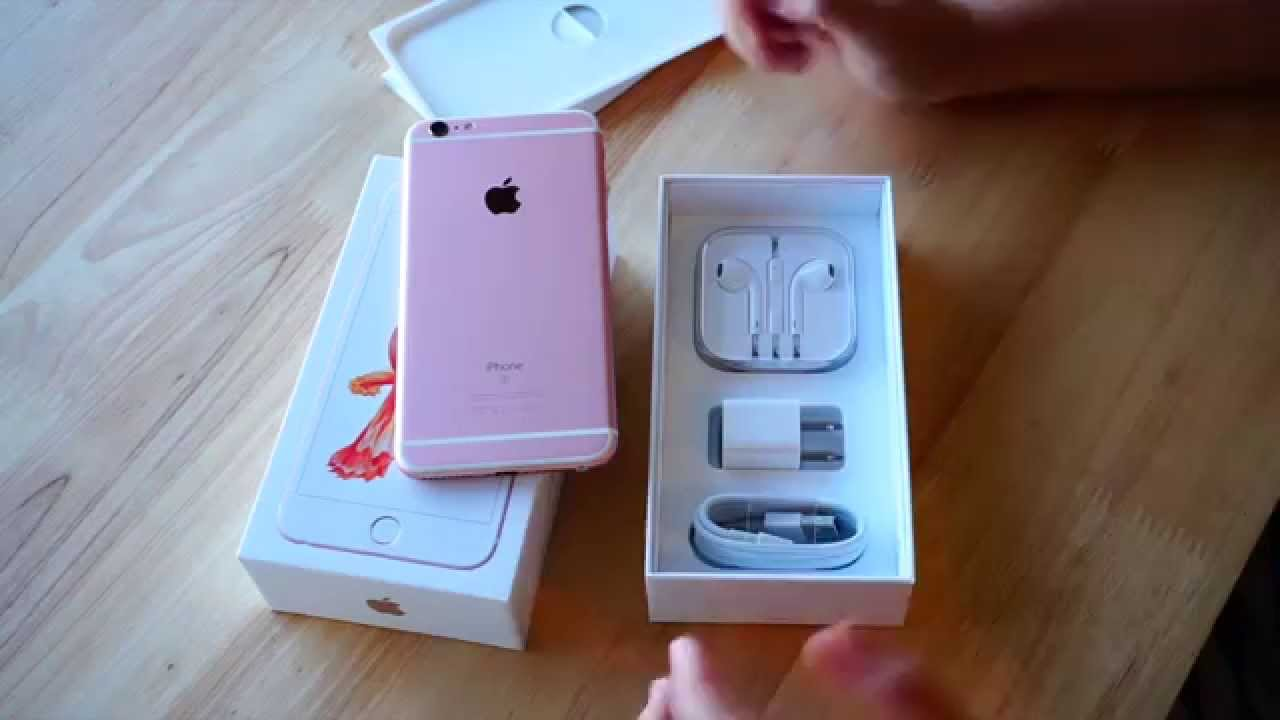 iphone 6s plus rose gold ep1 youtube. Black Bedroom Furniture Sets. Home Design Ideas