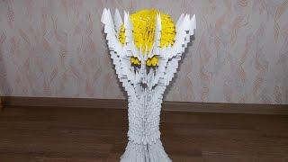Как сделать Байтерек из модульного оригами  / Baiterek