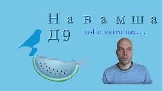 Карта Навамша, Д9. Ведическая астрология.