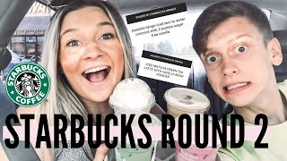 LETTING MY INSTAGRAM FOLLOWERS PICK OUR STARBUCKS DRINKS |Ella Hammons
