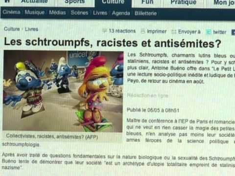 French sociologist examines 'racist' Smurfs