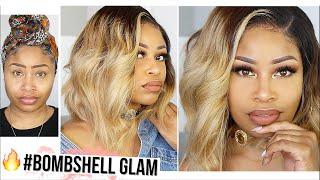 WATCH ME GET GLAM AF!! ⇢ grwm hair & makeup