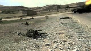 Arma 2 Combined Operations. Village battle in Takistan.