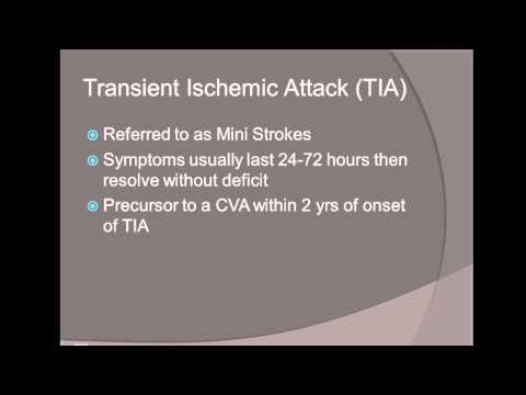 CVA/Stroke Management for the EMT Lecture