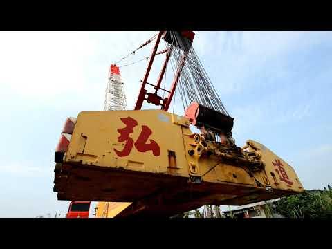 啟德&弘道機械起重工程 LIEBHERR LR1750(750噸級)空拍紀錄
