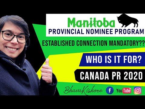 Manitoba PNP 2020