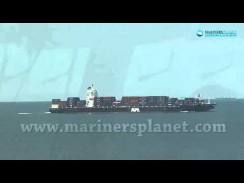 APL BAHRAIN CONTAINER SHIP FOR MERCHANT NAVY