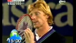 Becker vs McEnroe • Australian Open 1992 Third Round