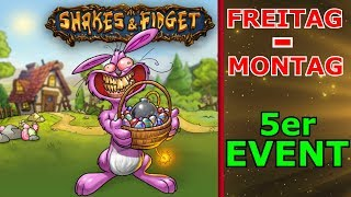 Shakes &amp Fidget - Oster Event, Alle Events fur 4 Tage #166 SFGame