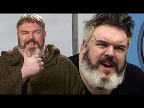 Kristian Nairn aka Hodor from Game of Thrones addresses the UCD Literary & Historical Society (2016)