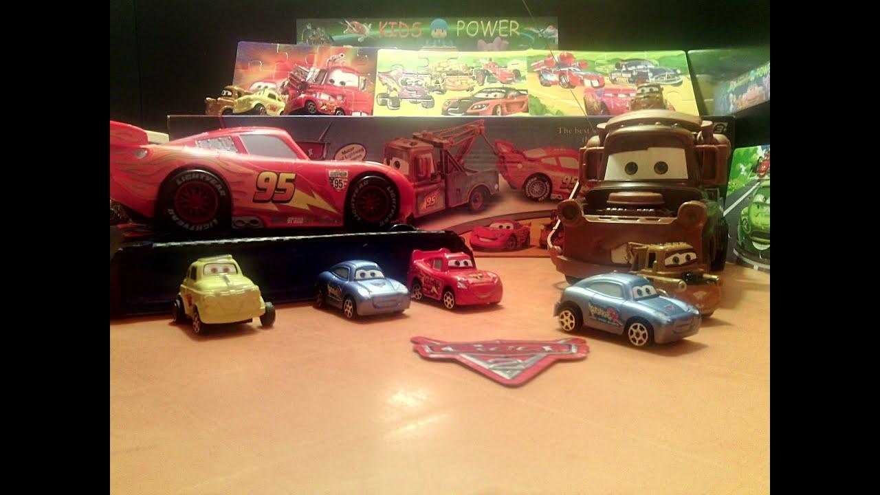 Disney Cars Toys Youtube: Disney Pixar Cars Mater Toys Review