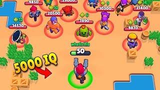5000 IQ *EPIC* WINS! (Brawl Stars Fails & Epic Wins! #3)
