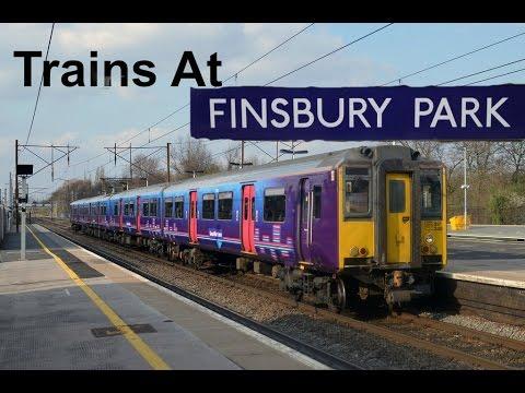 Trains At Finsbury Park (16/02/16)