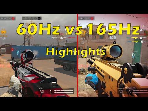 Warface - 60Hz vs 165Hz Monitor Highlights