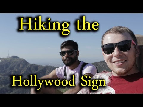 Hiking the Hollywood Sign and Griffith Observatory - Southern California Adventure Part 4