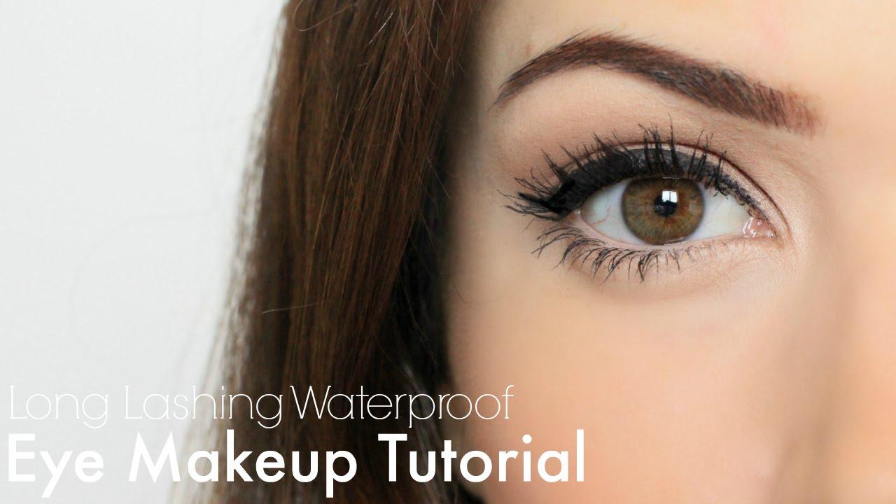 Waterproof Eye Makeup Mondaymakeuplesson Youtube