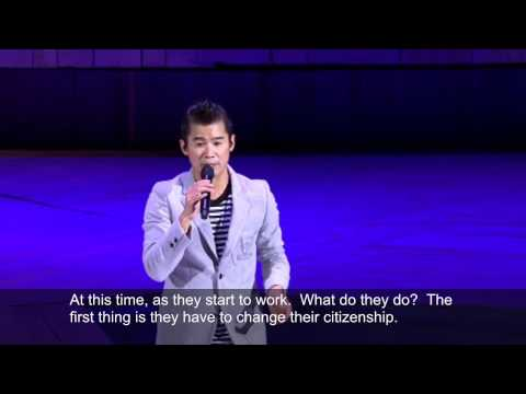 Jan Lamb 林海峰 Stand Up - Brain of a Hong Kong worker (translated)