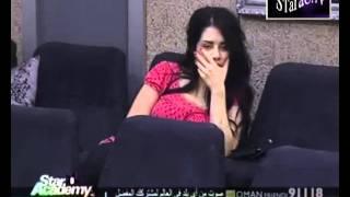 مشكله بين سارة فرح ونسمه محجوب في صف المسرح