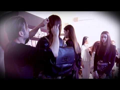ELISABETTA FRANCHI Autumn-Winter 2014/2015 Fashion Show Backstage