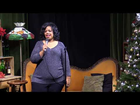 Kim Allen at Flappers Comedy Club