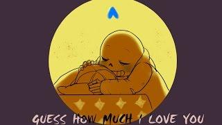 Adivinhe o quanto eu te amo【Undertale Comic Dub PT-BR】