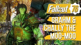 Fallout 76 - Grahm and Chally the moo-moo's Fair Trades