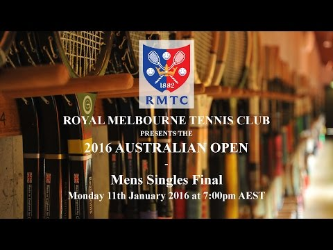 2016 Australian Open Mens Singles Final - R Fahey vs B Matthews
