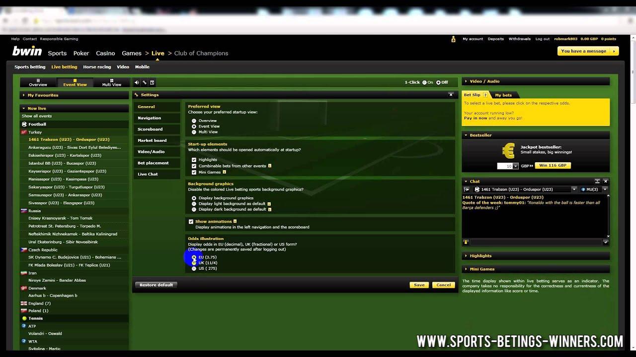 Bwin betting football tricks 999 sports betting online