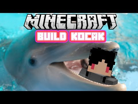 Minecraft Indonesia - Build Kocak (58) - Lumba Lumba Imut!