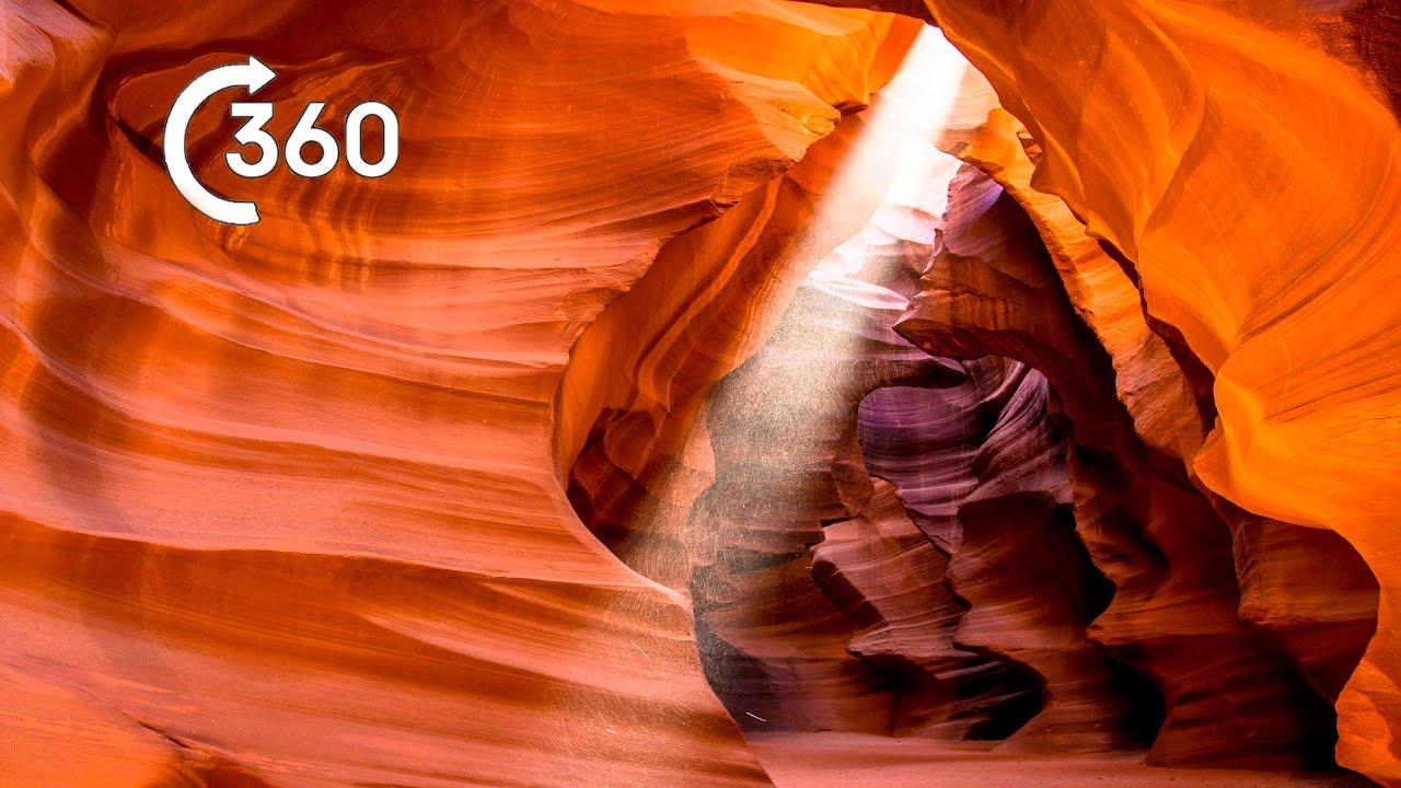 Beautiful Desert Canyons 360° | Planet Earth II | Deserts