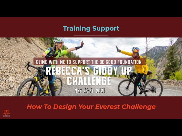 How to Design Your Personal Everest Course