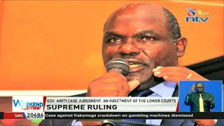 Governor Awiti case judgement, an indictment of the lower courts