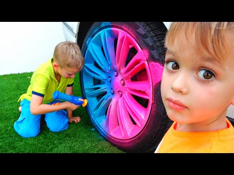 Vlad and Niki pretend play with Toys - Funny stories for children