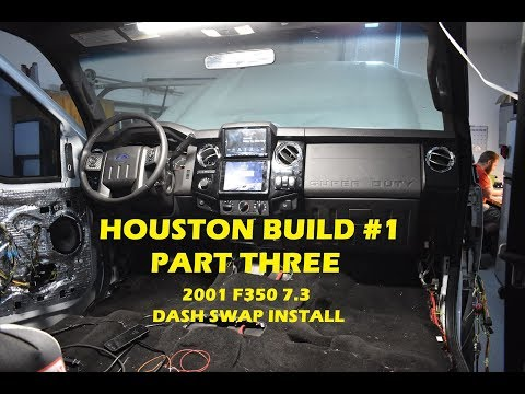 2016 Dash Swap INSTALL On Houston Build #1 PART 3