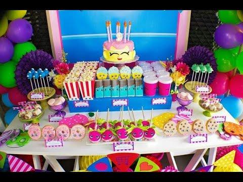 Fiesta de shopkins 2017 party girl fiestas infantiles - Ideas para fiestas infantiles ...