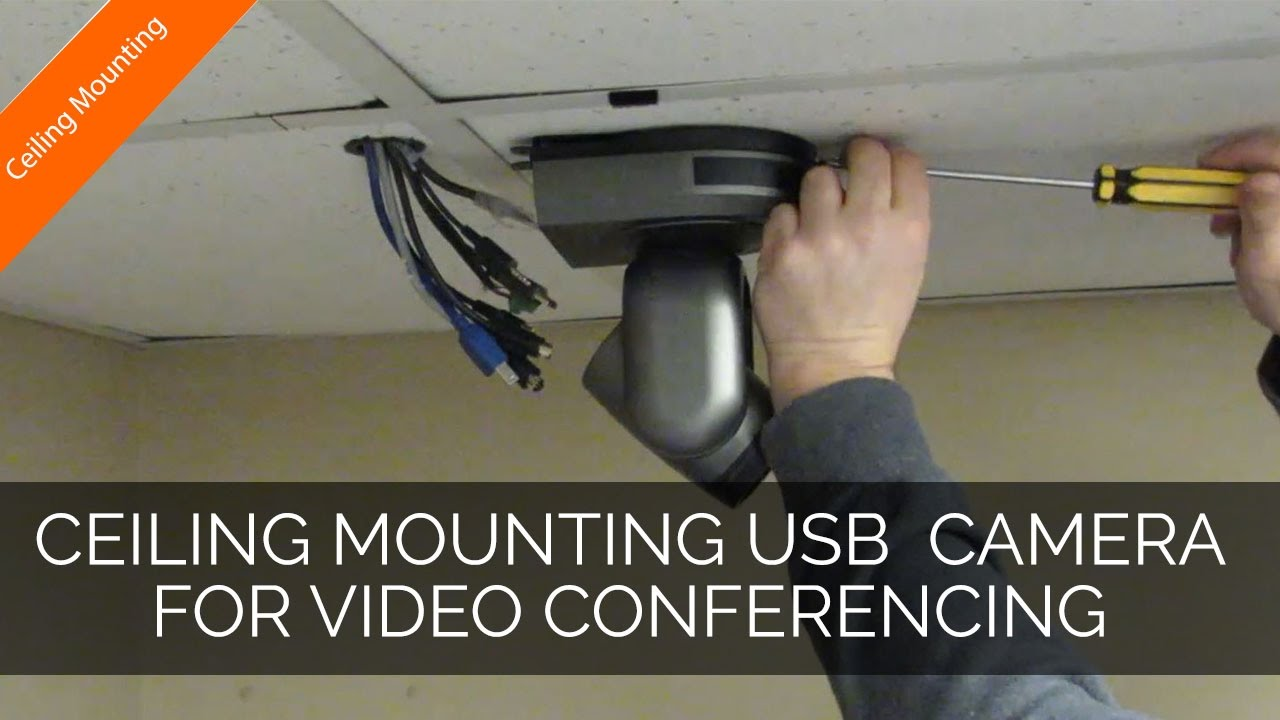 Ceiling Mounting Usb Video Conferencing Cameras Youtube