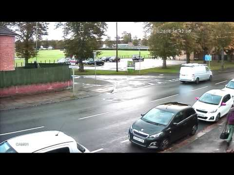 Ghosting effect on CCTV - YouTube