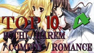 Top 10 Ecchi / Harem / Comedy / Romance Anime - [HD] [NEW]