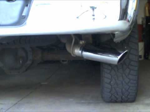 2006 Dodge Ram Exhaust Hemi with Dynomax Race Bullet 24222