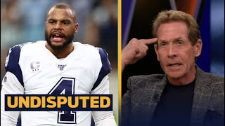 UNDISPUTED   Skip Bayless Believes that Dak Prescott and Cowboys will agree to new contract
