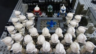 The Battle of Mantessa (p1) - Lego starwars stop motion (brickfilm)