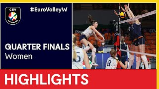 Sweden vs. The Netherlands Highlights - #EuroVolleyW
