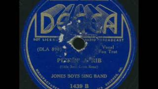 Jones Boys Sing Band - Pickin