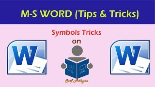 Ms Word tips & Tricks in Hindi | Microsoft word Tips and Tricks in Hindi | Learn MS Word Tutorial