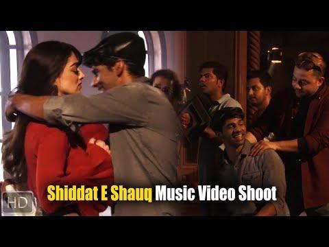 Sandeepa Dhar And Hariharan At On location Shoot For Music Video Shiddat E Shauq   Bollywood Events