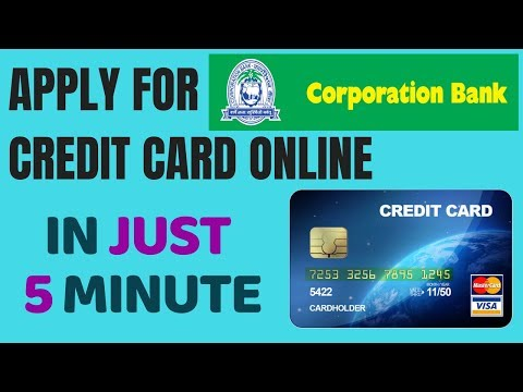 Corporation bank credit card Apply | Apply Corporation Bank credit card online