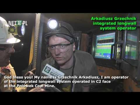amazing video: deep coal mine in Poland